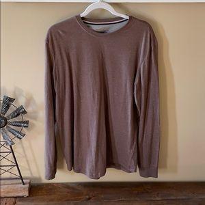Men's Long Sleeve Brown Shirt